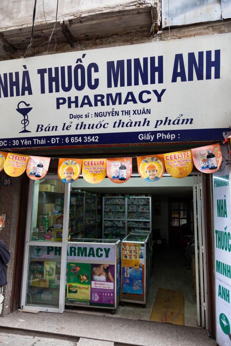 Vietnam-Hanoi,-Altstadt