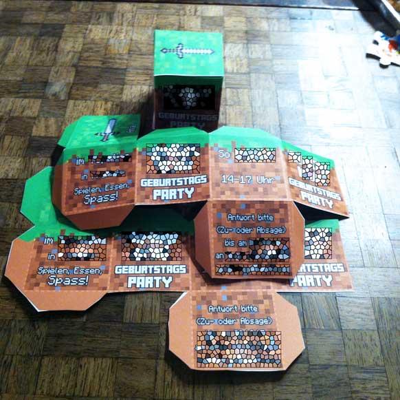 Minecraft Geburtstagsparty Pharmamas Blog - Minecraft spiele geburtstag