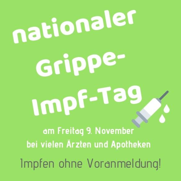 nationaler Grippe-Impf-Tag